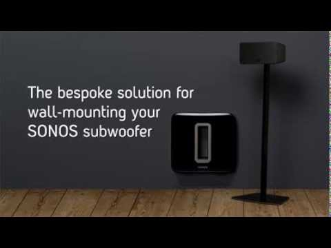 Flexson How To Wall Mount Your Sonos Sub Subwoofer Youtube