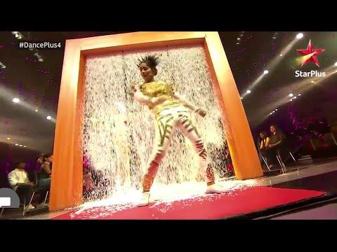 Dance plus 4 -  vartika jha  24  25 November  indian popping girl