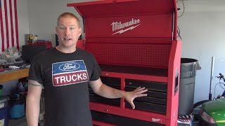"Milwaukee Tools New 46"" Tool Chest Setup & Installation"
