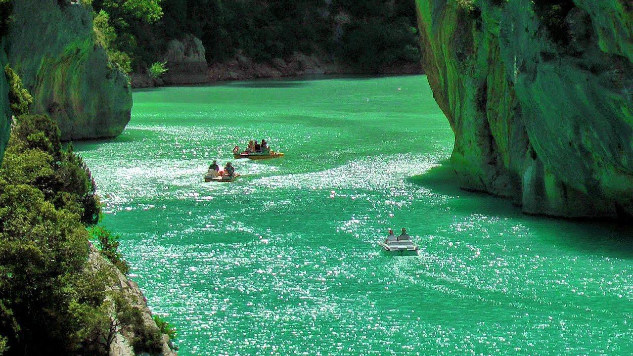 Verdon Gorge (Gorges du Verdon, Grand Canyon du Verdon), South France HD (videoturysta) - YouTube