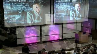 Quantum Black Holes - Stephen Hawking - Roger Penrose Inaugural Lecture at the University of Oxford
