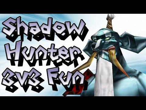 Warcraft 3 - Shadow Hunter 3v3 Fun
