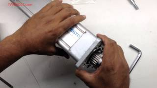 Inside FESTO Linear Actuator