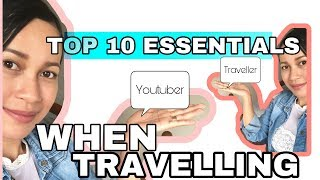 HOW TO TRAVEL AS A YOUTUBER / VLOGGER   YOUTUBER KIT MUST HAVE