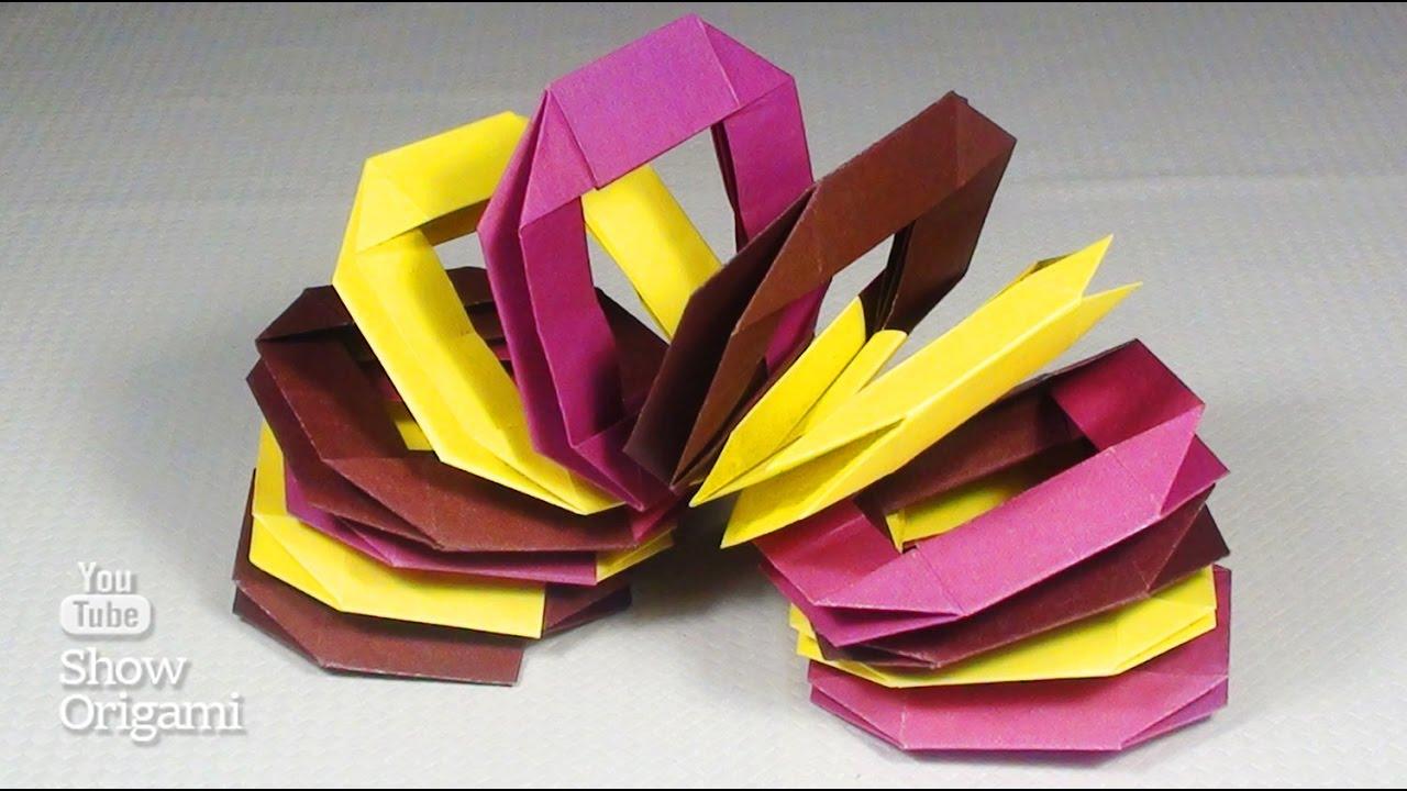 Пружина из бумаги