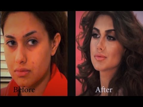 Victoria s Secret Makeover with MAKEUP ، Hanan Alnajadah مكياج حنان النجاده
