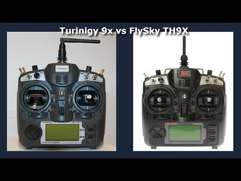 Turnigy 9x vs FlySky TH9X