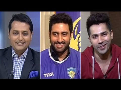 ISL aimed at helping Indian football: Abhishek Bachchan to NDTV
