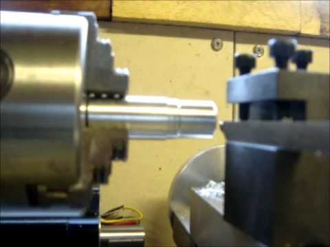 Micro lathe CNC conversion first tests