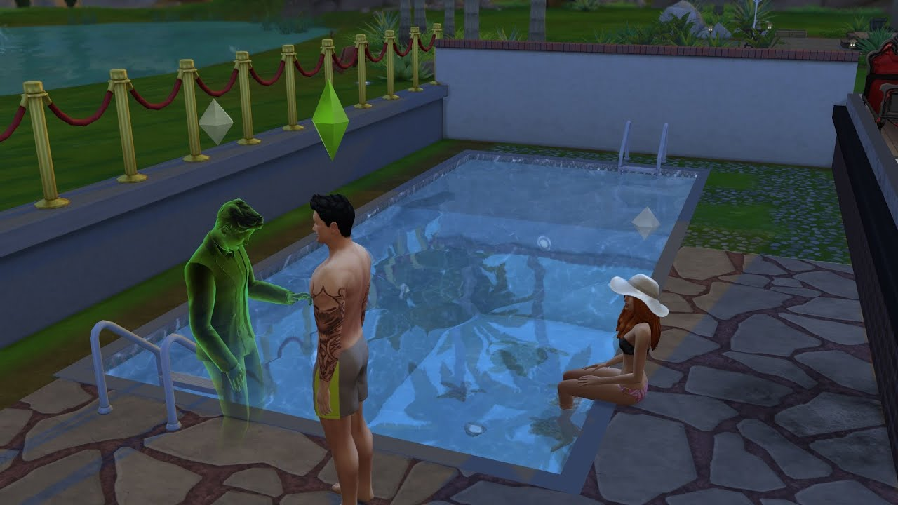 Los sims 4 parte 25 piscina para todos youtube for Piscina sims 4