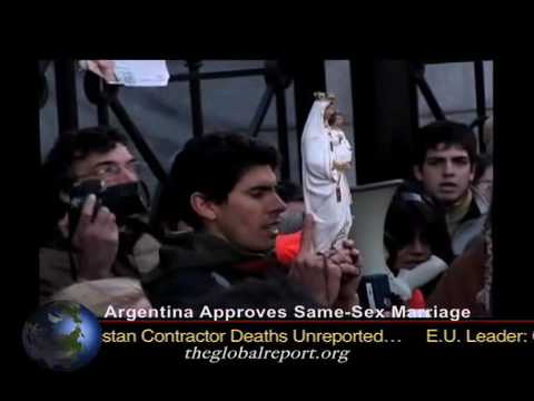 Argentina Approves Same-Sex Marriage
