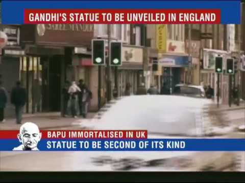 Gandhi's statue to be unveiled in Leicester