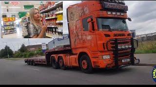 Paradinha para compras na Inglaterra. Video n°335