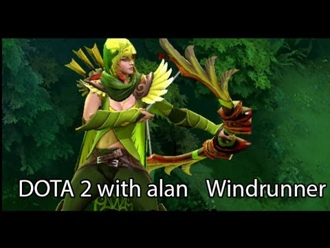 DOTA 2 with Alan: Windrunner