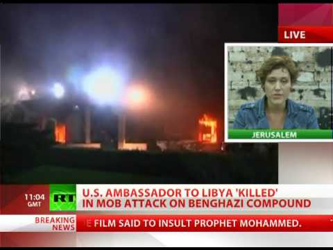 US Diplomat Death: Violence on rise in post-revolution Libya