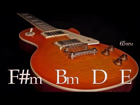 Backing Track Sad Guitar Ballad F# Minor