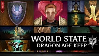 Dragon Age: Inquisition - My canon world state from Dragon Age Keep [narrated by Varric]