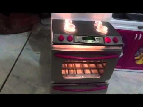 My barbie doll kitchen set youtube for My kitchen set