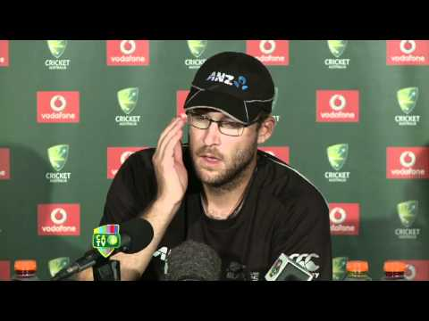 Dec 2nd: Daniel Vettori press conference