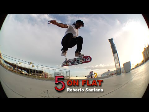 Roberto Santana 5 on Flat