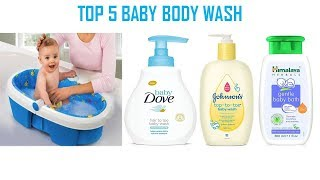 Top 5 baby's body wash