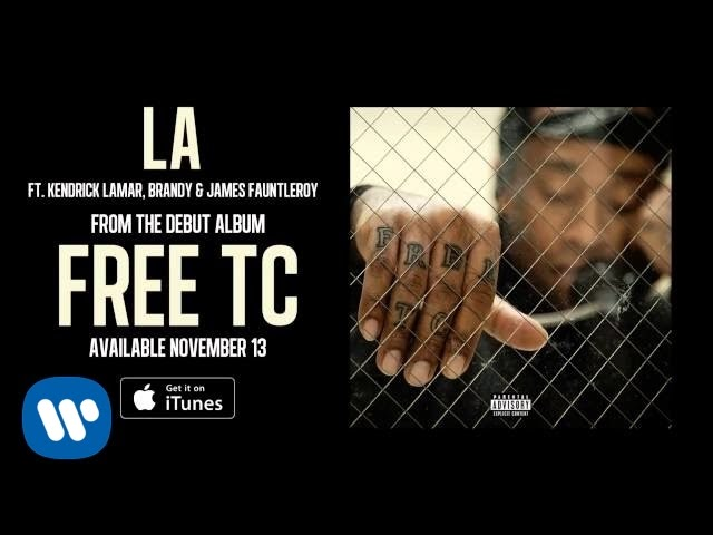 Ty Dolla $ign Feat. Kendrick Lamar, Brandy & James Fauntleroy - LA (Audio)