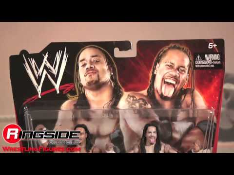 Jimmy & Jey Uso Wwe 2-packs 11 Toy Wrestling Action Figures - Rsc Figure Insider video