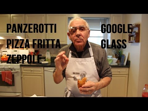 Panzerotti, Pizza Fritta and Zeppole Recipe (Google Glass #ThroughGlass) - OrsaraRecipes