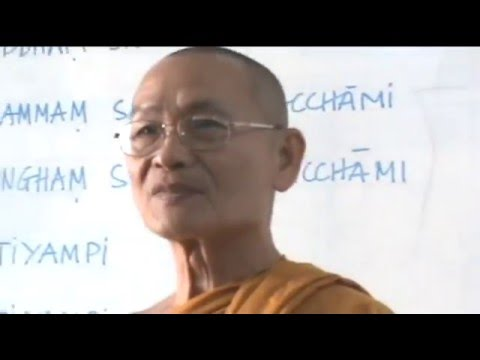 Dạy Kinh Tụng Pali ( Quy Y Tam Bảo - Tán Dương Phật)