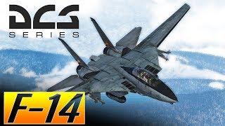 DCS: F-14 Tomcat Vs Mig-29 Trying out the Aim-54C Phoenix