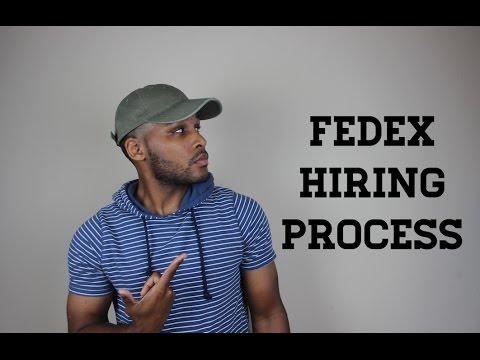 FEDEX HIRING PROCESS