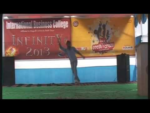 Infinity 2013 @  international business college part 2  of 3