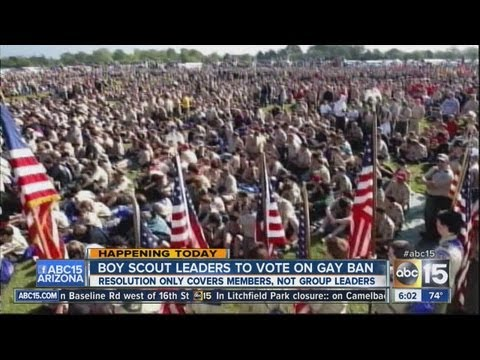Boy Scout leaders to vote on gay ban