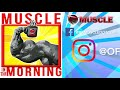 DE ASHA DESTROYS DELTS! Muscle in the Morning (1/29/18)