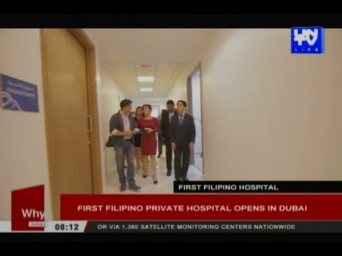First Filipino private hospital opens in Dubai