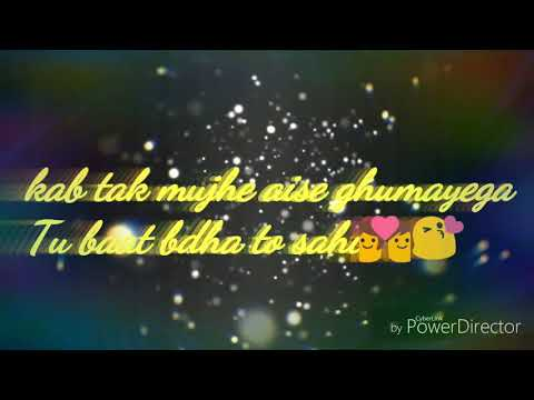 Aa to sahi song lyrics for WhatsApp status 😍