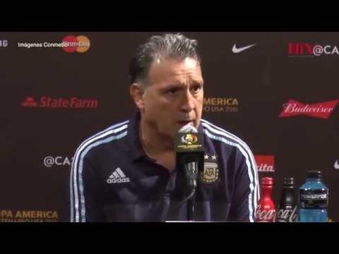"""Gerardo """"Tata"""" Martino renuncia como entrenador de selección argentina"""
