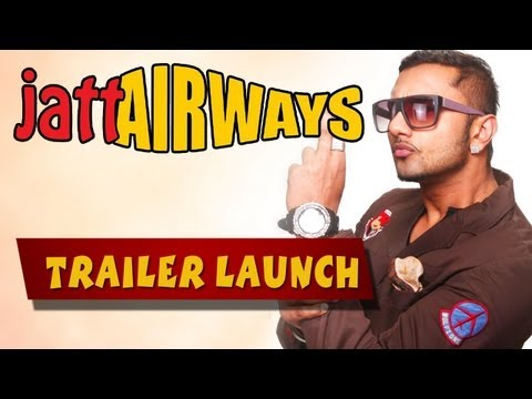 Yo Yo Honey Singh &amp  Alfaaz Launching Jatt Airways First Look In New Delhi