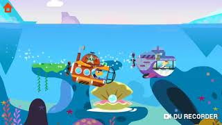 #Dinosaur Games #Police #CarChase | Youtube Kids, Dinosaur Police Car fun #Dinosaur #Submarine Games