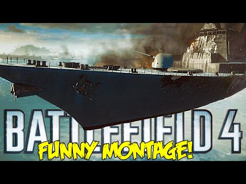 Battlefield 4 Funny Montage!  Racing Boat FAIL , Quick Smaws & More (BF4 Funny Moments)