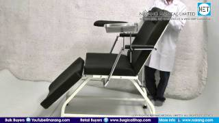 Blood Donation Chair-cum-Bed. Item Code: HF2195M