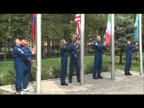 Expedition 36/37 Crew Prepares for Launch in Kazakhstan