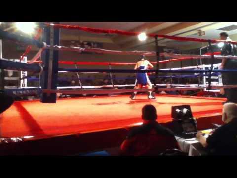 2012 National Silver Gloves Nico Hernandez vs Luis Espinoza pt1