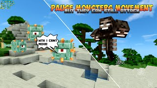 Stop Mob Movement Without NoAi Tag Mob Can Still Attack! Minecraft 1.8+