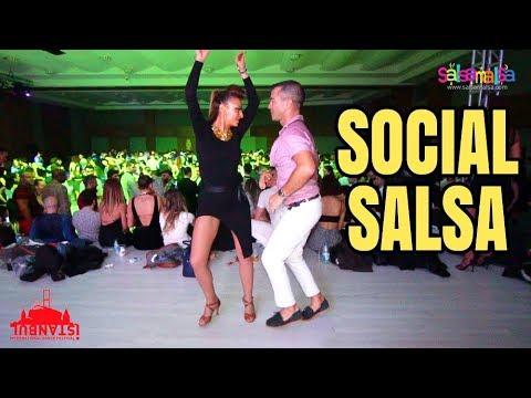 NUR ÖZKAN & OLIVER PINEDA (Social Dance Salsa)