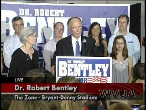Dr. Robert Bentley Victory Speech Part 1