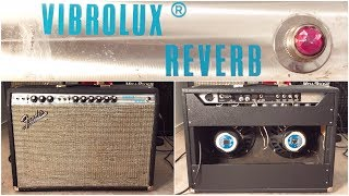 Fender Vibrolux Reverb - The ultimate club and recording guitar amp!