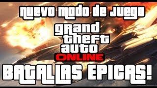 GTA V Online - Batallas Épicas!! Nuevo modo de juego muy divertido xD
