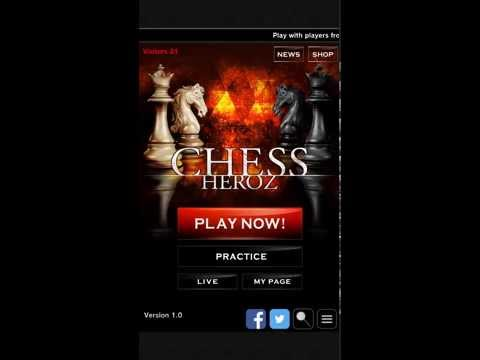 chess game free -CHESS HEROZ APK Cover