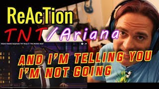 Guitarist Reacts  - Ariana Grande Surprises TNT Boys // and I'm Telling You  // Musicians Reaction